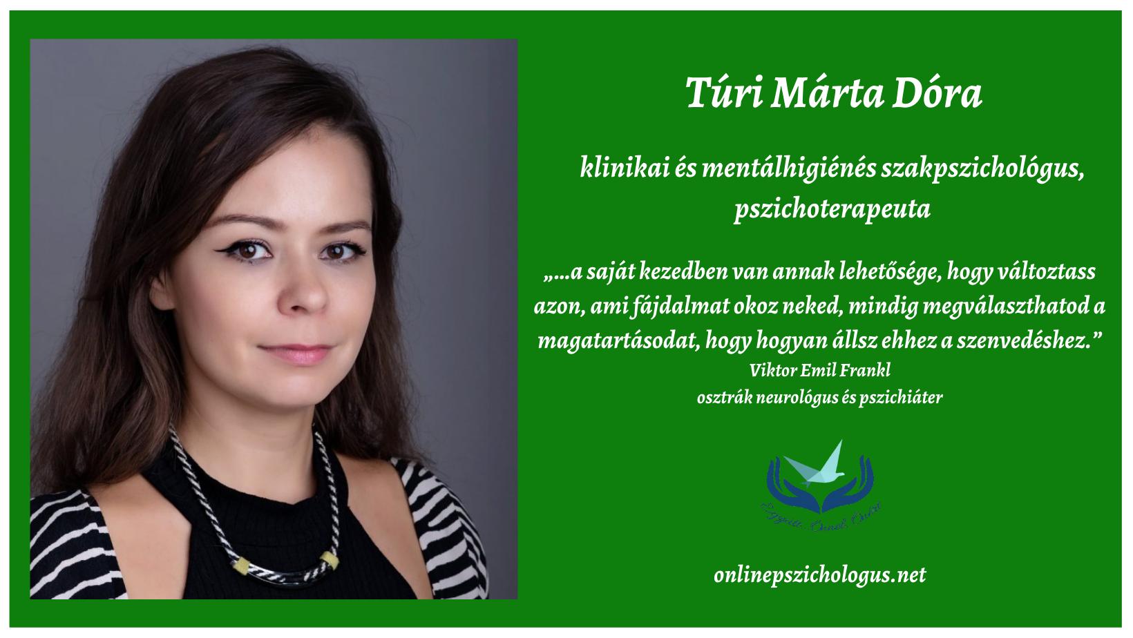Interjú Túri Márta klinikai szakpszichológussal