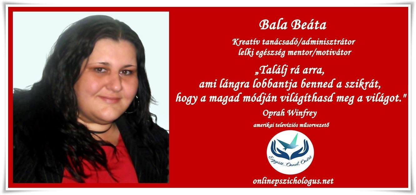 Interjú Bala Beátával, munkacsoportunk kreatív tanácsadójával