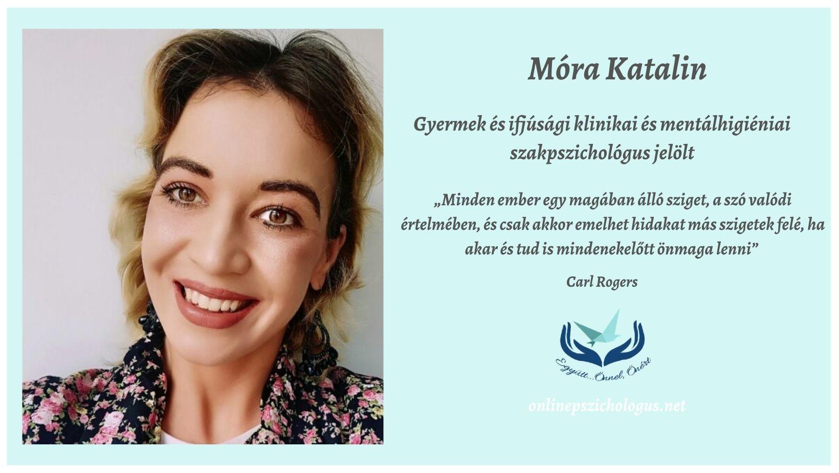 Interjú Móra Katalin pszichológussal