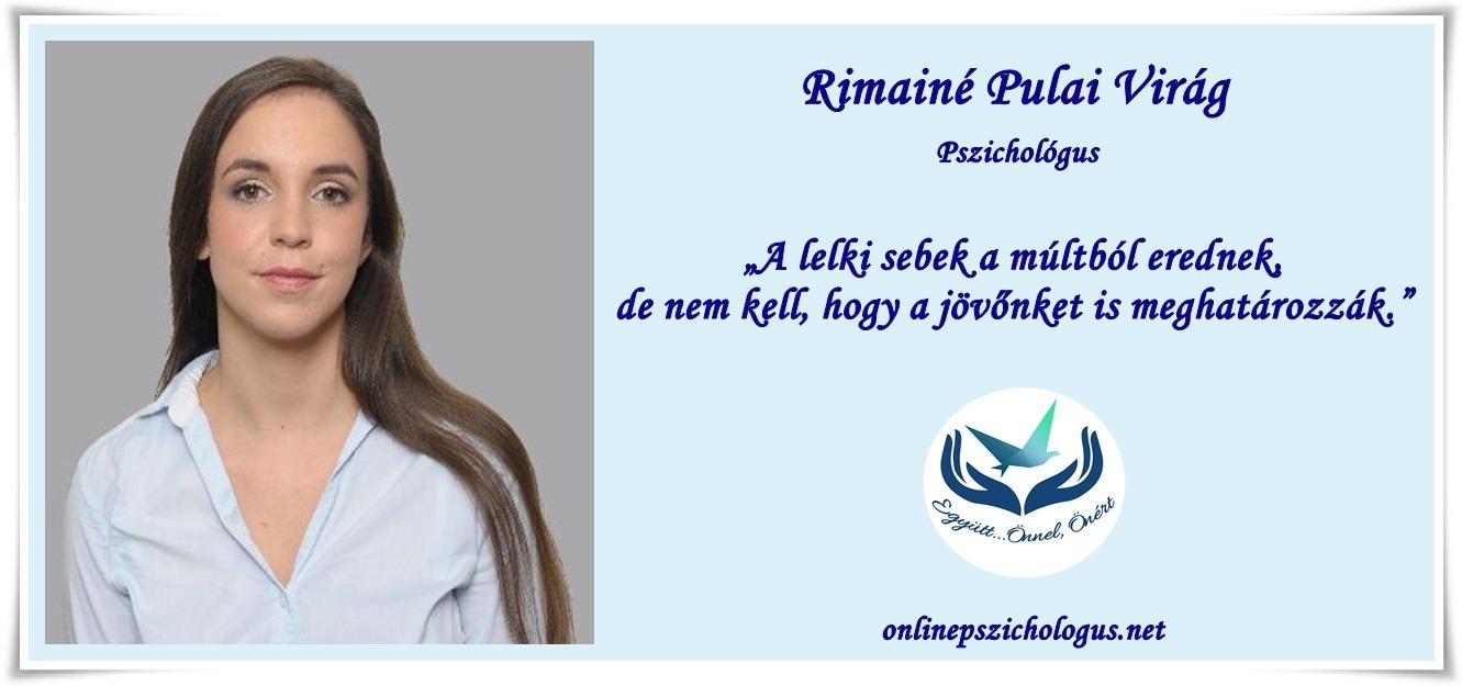 Interjú Rimainé Pulai Virág pszichológussal