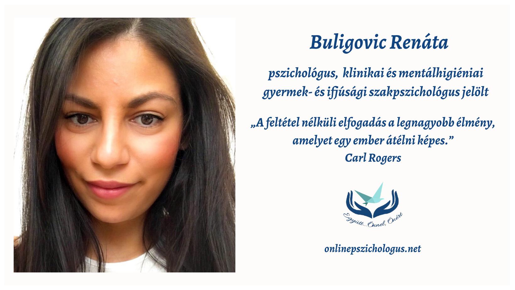 Interjú Buligovic Renáta pszichológussal